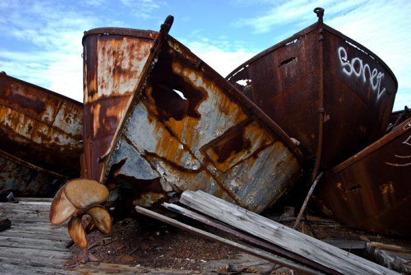Кладбище лодок в Стейтен-Айленд