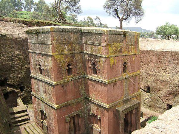 Бет Гиоргис – церковь в скале