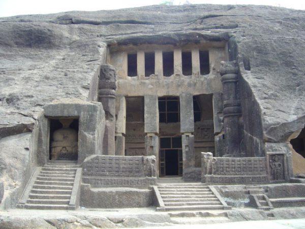 Пещеры Канхери, Индия
