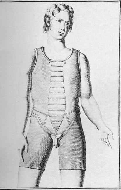 костюм для лечения онанизма