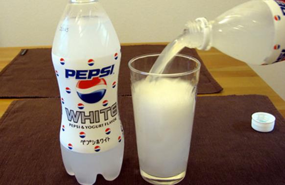 Пепси с йогуртом