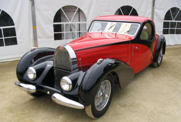 редкие ретроавтомобили Bugatti Type 57S Atalante