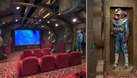 Самые необычные домашние кинотеатры