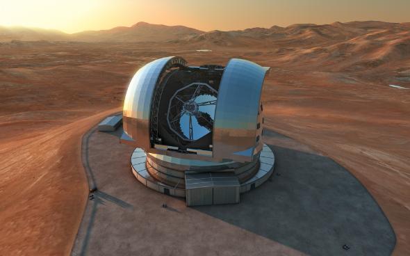 Европейский гигантский телескоп