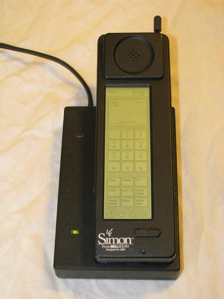 первый смартфон (1993)