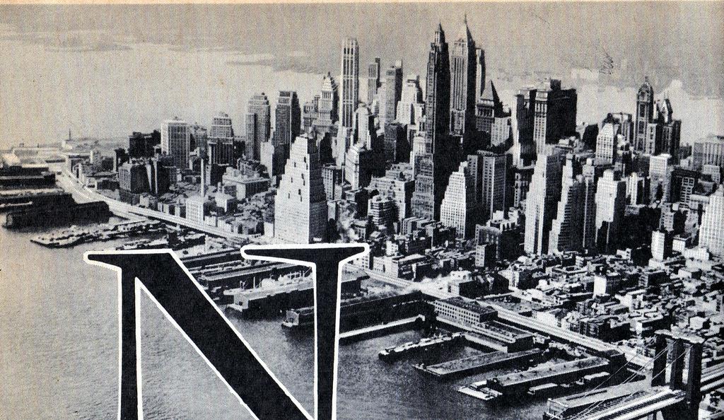 Нью-Йорк 1956 год.