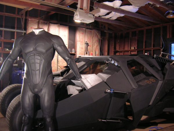Боб Далэм создал Бэтмобиль в своем гараже