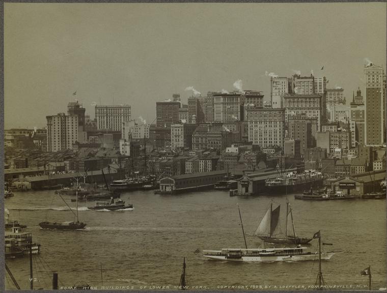Нью-Йорк 1908 год.