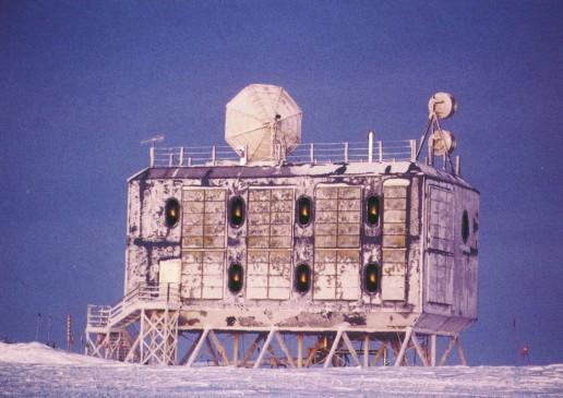 Секция американской базы Amundsen Scott