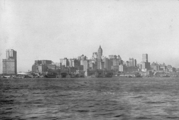 Нью-Йорк 1911 год.