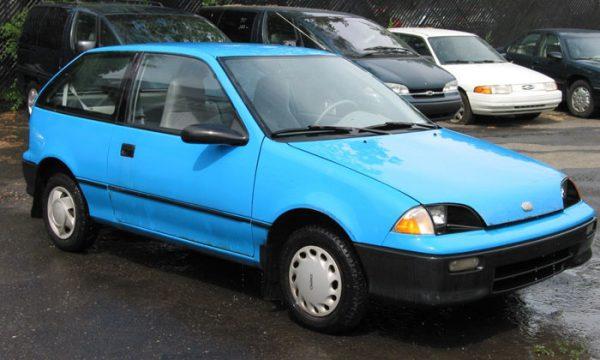 Geo был брэндом маленьких автомобилей
