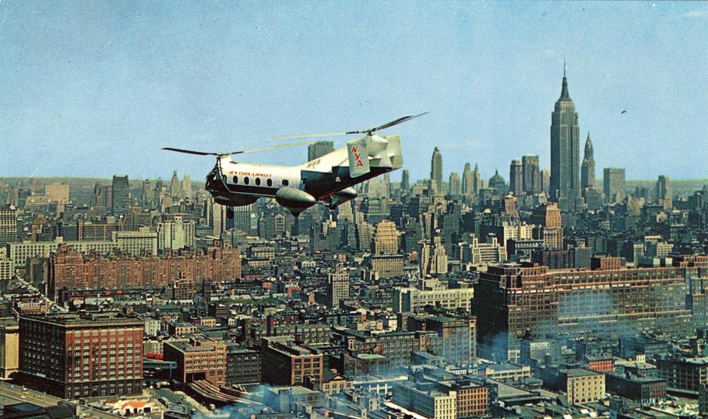 Нью-Йорк 1958 год.