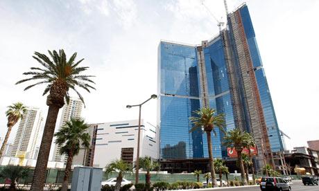Недостроеное здание казино Фонтенблю