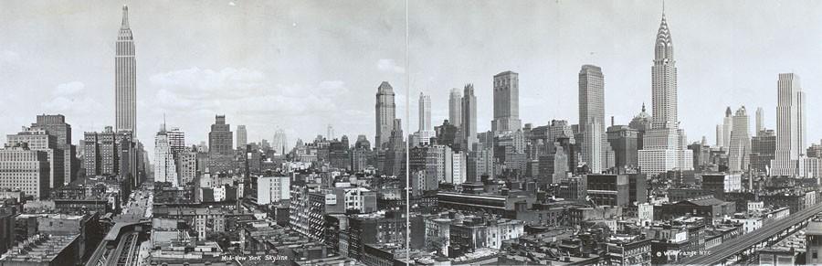 Нью-Йорк 1931 год.