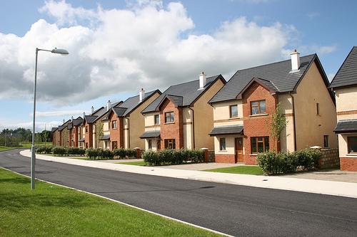 Пустые дома в Ирландии