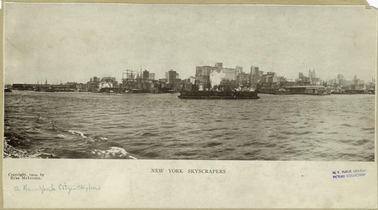 Нью-Йорк 1904 год.