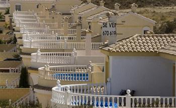 Пустые виллы в Аликанте, Испания.