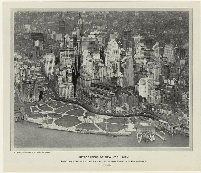 Нью-Йорк 1929 год.