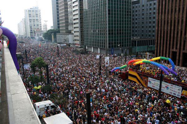 Гей парад в Сан-Паулу