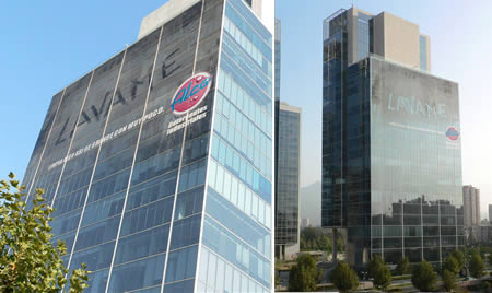 здания и реклама