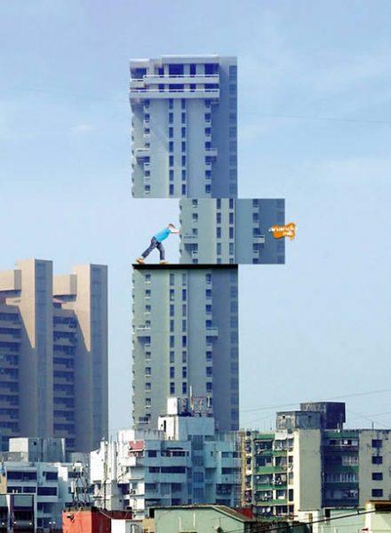 Здание для рекламы