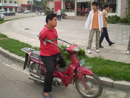 Безрукий мотоциклист