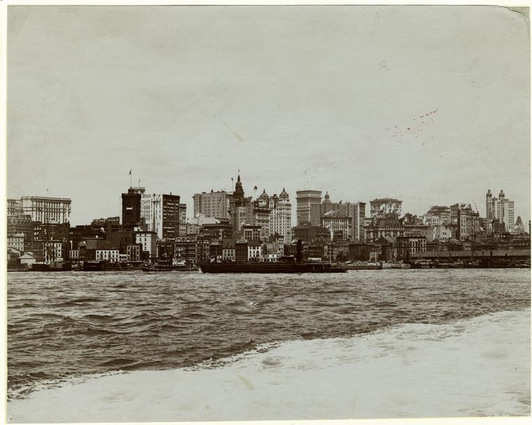 Нью-Йорк 1901 год.