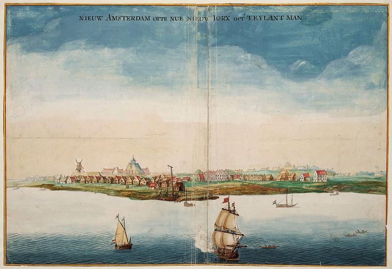 Нью-Йорк в 1664 году.