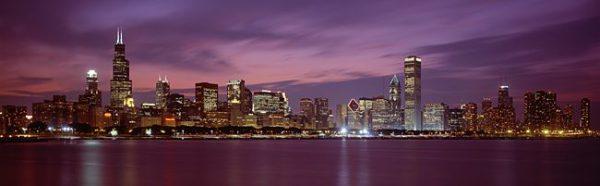 В Чикаго 20 зданий выше 200 метров