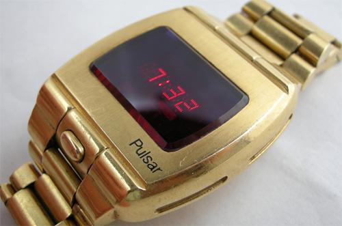первые цифровые часы