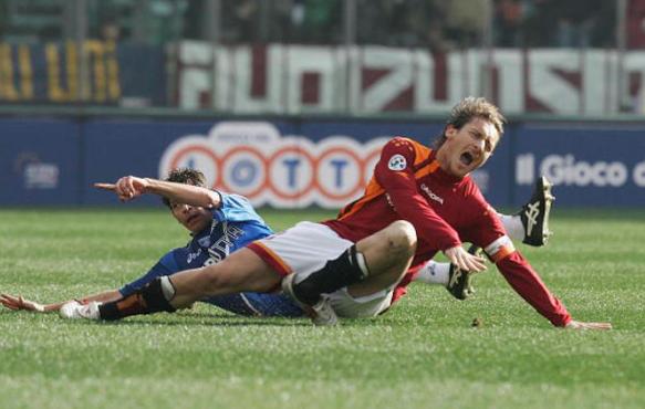 Франческо Тотти травма