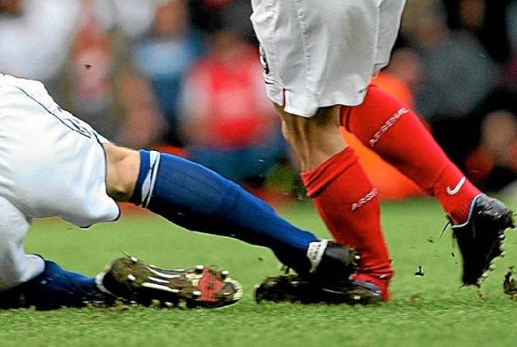 футбольная травма