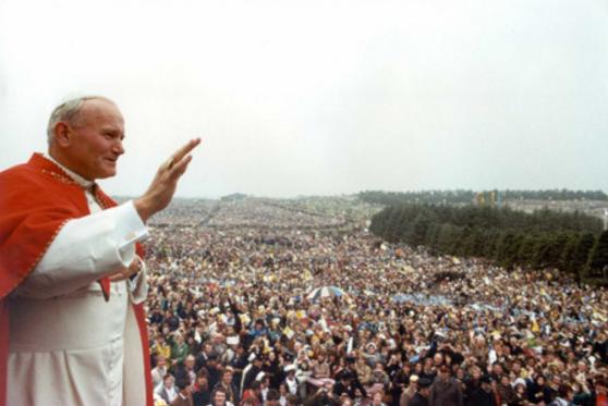 Месса Папы Римского в Ирландии