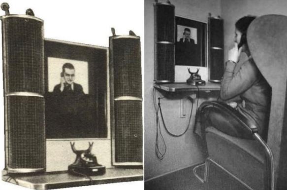 Первый видеотелефон