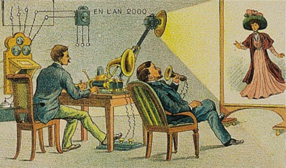 Представление о видеотелефоне в 1910 г