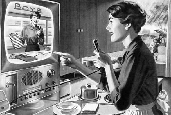 Шопинг по телефону из 50-х.