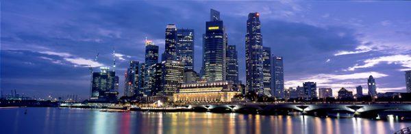 Сингапур скайлайн