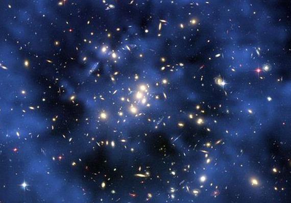 снимки телескопа хаббл кольцо темной материи