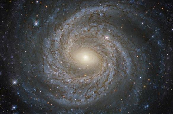 снимки телескопа хаббл Спиральная галактика М 7