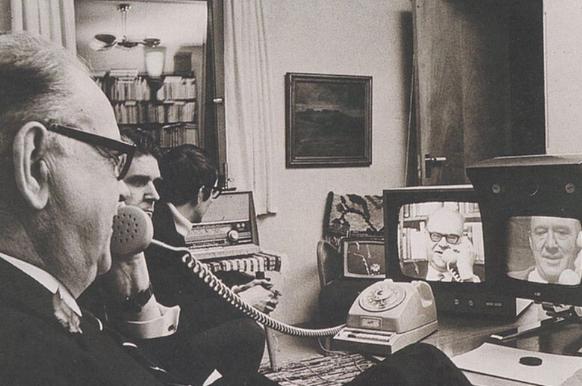 видеотелефон Эриксон 1969 г