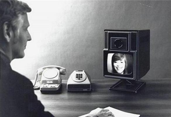 видеотелефон Эриксон 1973 г
