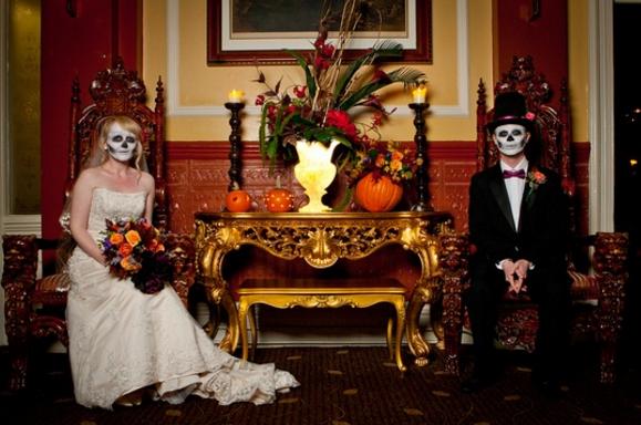 необычная свадьба в доме с приведениями