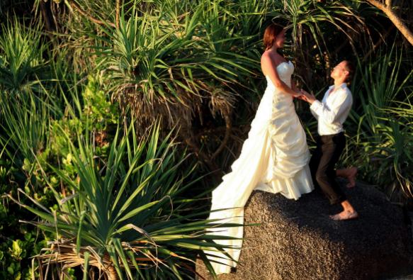 необычная свадьба в джунглях
