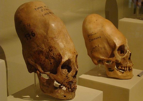 Загадочный череп в Перу