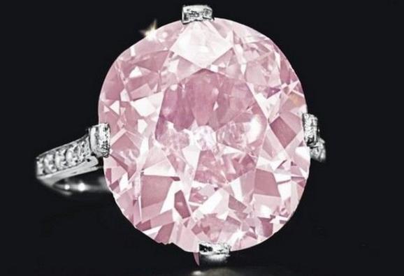 бриллиант розовый Штаймец