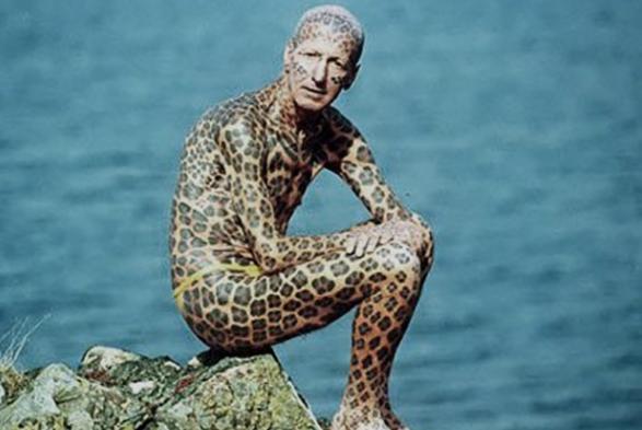 Человек-леопард