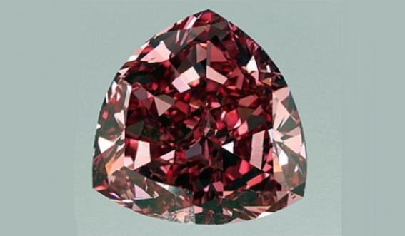 Красный бриллиант Моуссайеф