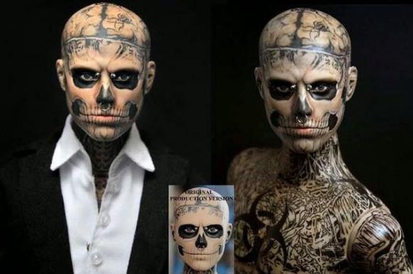 люди изменившие свою внешность до неузнаваемости