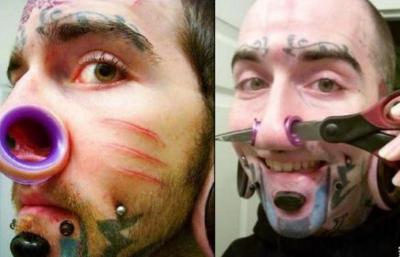 люди изменившие свою внешность Поули