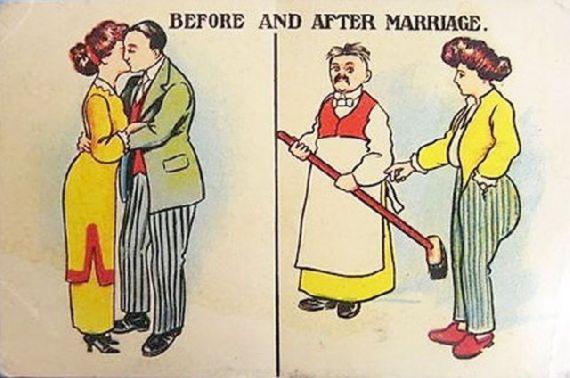 До и после свадьбы